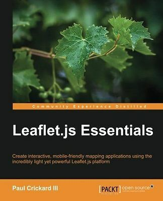 **NEW** - Leaflet.js Essentials (Paperback) 1783554819