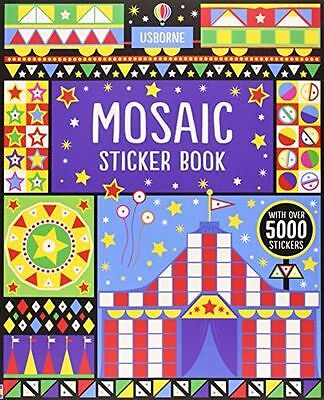 **NEW** - Mosaic Sticker Book (Usborne Sticker Books) (Paperback) 1409564452
