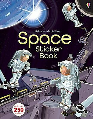 **NEW** - Space Sticker Book (Usborne Activity Books) (Paperback) 1409587673