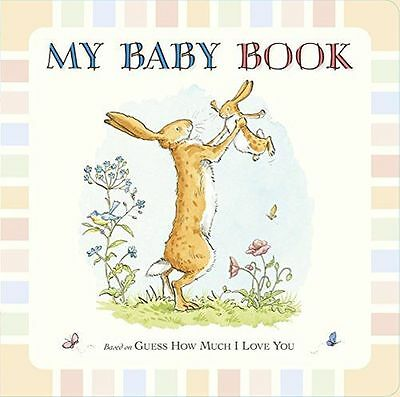 **NEW** - Guess How Much I Love You: My Baby Book (Hardcover) 1406350117