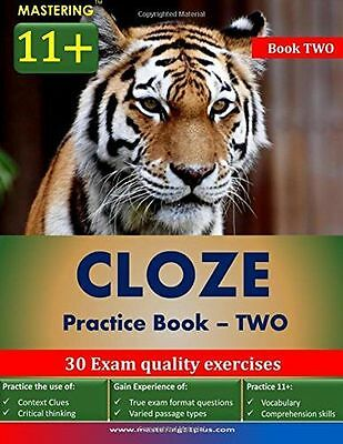**NEW** - Mastering 11+ : Cloze - Practice Book 2 (Paperback) 1502918552