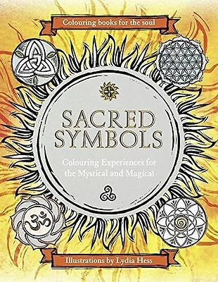 **NEW** - Sacred Symbols (Colouring Books for the Soul) (Hardcover) 0008157189