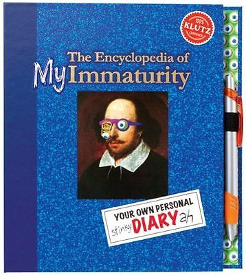 **NEW** - Encyclopedia of My Immaturity (Klutz) (Hardcover) 1591749239