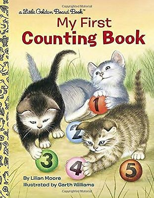NEW - My First Counting Book (Little Golden Board Book) (Board book) 055352223X
