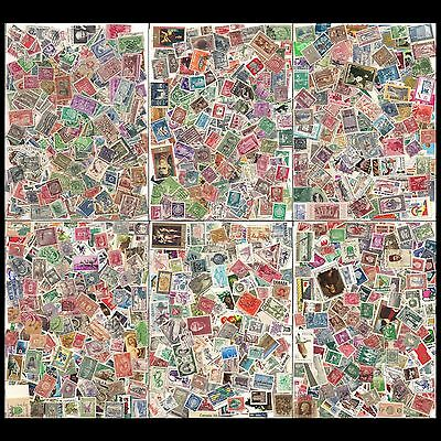 WORLDWIDE: More than 2900 stamps / More than 125 countries -- see scan --