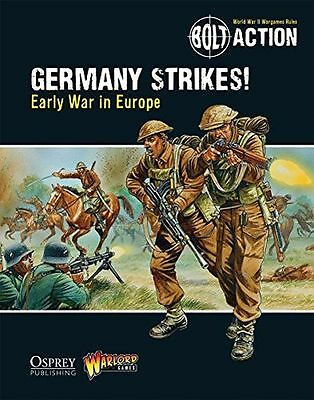 NEW - Bolt Action: Germany Strikes!: Early War in Europe (Paperback) 1472807413