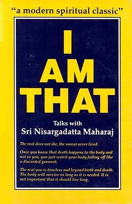 **NEW** - I am That: Talks with Sri Nisargadatta Maharaj (Paperback) 8185300534
