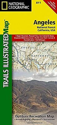 Angeles National Forest (National Geographic Maps: Trails (Map) 1566955777