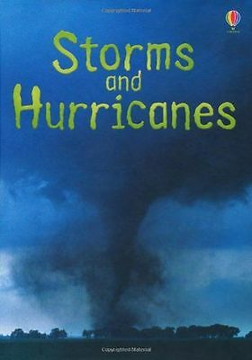 **NEW** - Storms and Hurricanes (Usborne Beginners) (Hardcover) 1409544885