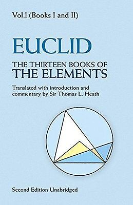 The Thirteen Books of The Elements: Volume 1: Books 1 and 2 (PB) 0486600882