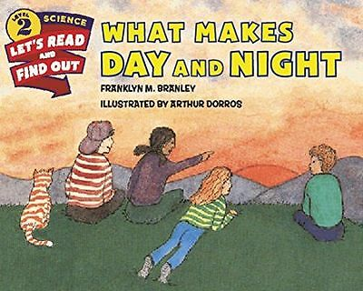 What Makes Day and Night (Let's-Read-And-Find-Out Science 2) (PB) 0062381970