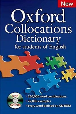 Oxford Collocations Dictionary for students of English: A (PB) 0194325385