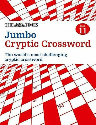 Times Jumbo Cryptic Crossword 11: The world's most challenging (PB) 0007453477