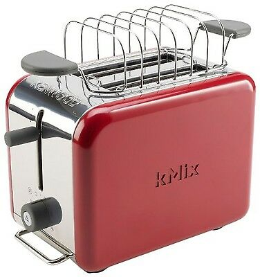 Kenwood kMIx TTM021 2-Slot Toaster Raspberry Red NEW