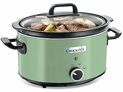 Crock-Pot Slow Cooker 3.5 Litre Thyme NEW