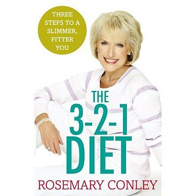 Rosemary Conley's 3-2-1 Diet: Just 3 steps to a slimmer - Paperback NEW Rosemary