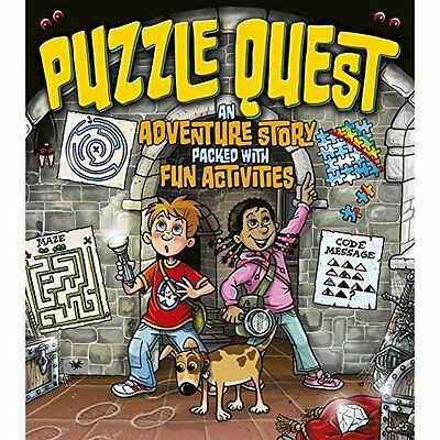 Puzzle Quest - Paperback NEW Lisa Regan and  15 Aug. 2016