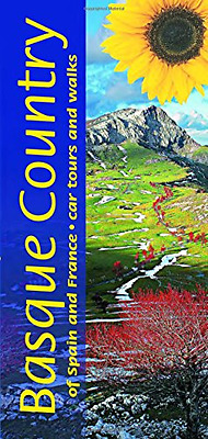 Basque Country of Spain and France: Car Tours and Walks - Paperback NEW Philip C