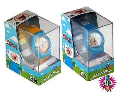 Official Adventure Time Plastic Jake Or Finn Children's Wrist Watch
