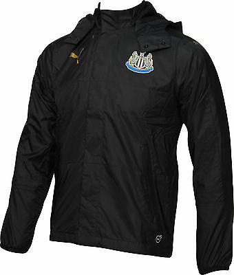 Puma Newcastle United 2016/17 Rain Mens Training Jacket - Black
