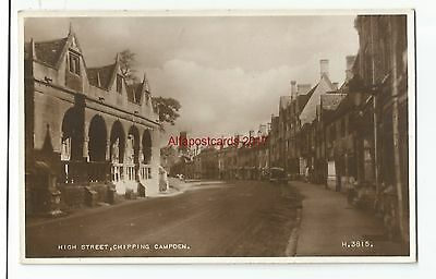 Glos Chipping Campden High Street Real Photo Vintage Postcard 7.2