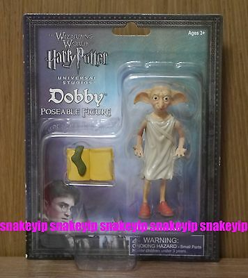 "Harry Potter Poseable Dobby Free Elf 4""Figure Universal Studios exclusive MIB"