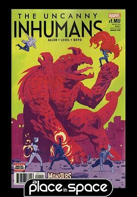 Uncanny Inhumans - Monsters Unleashed #1A (Wk06)
