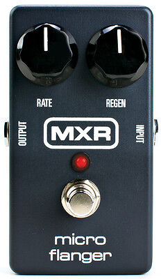 MXR Micro Flanger M152 Guitar Effects Pedal (NEW)