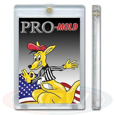 1 Box of 20 Pro-Mold One Touch 120 Pt. Magnetic Thick Card Holder MH3UV5