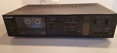 Kenwood KX-440HX Single Hi-Fi cassette deck - Vintage 1988 model