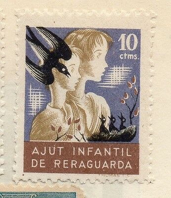 Spain 1931 Early Issue Fine Mint Hinged 10c. 127945