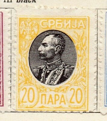 Serbia 1905 Early Issue Fine Mint Hinged 20p. 128154