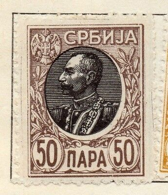 Serbia 1905 Early Issue Fine Mint Hinged 50p. 128157