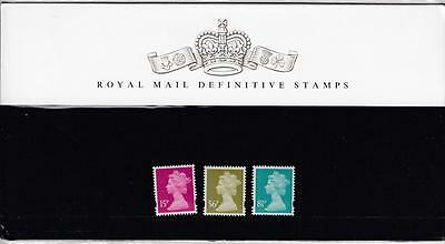 Gb 2008 Royal Mail Presentation Pack Definitive Pack No 78