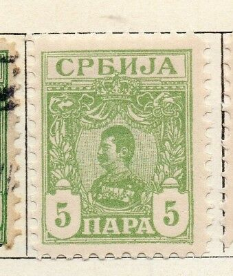 Serbia 1901-02 Early Issue Fine Mint Hinged 5p. 128191