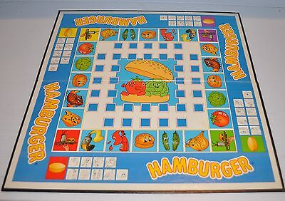HAMBURGER Board Game Replacement BOARD ONLY (Replacement Part)  Chieftain
