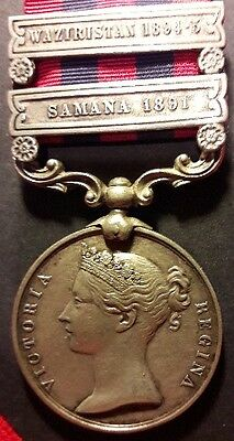 I.G.S 1854 – 1895 INDIAN GENERAL SERVICE MEDAL to ROYAL ARTILLERY