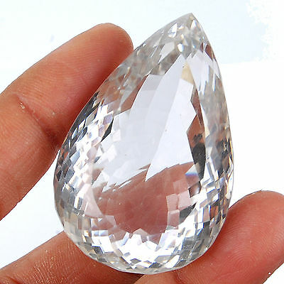 VVS 277 Cts Certified Unheated Natural White Quartz Huge Finest Quality Gemstone