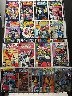 Punisher Reader's Lot of 17Diff Vigilante Justice in the Marvel Universe!