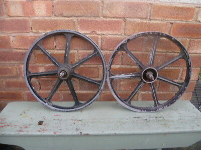 VINTAGE 1970/80's BMX/RALEIGH GRIFTER ALLOY WHEELS**NOT PLASTIC**USED**PAINTED