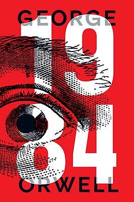 1984 by George Orwell (English) Paperback Book Free Shipping!