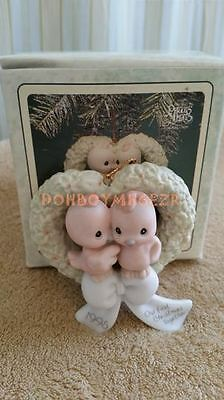 Enesco Precious Moments 1995 Our First Christmas Together Ornament 142700