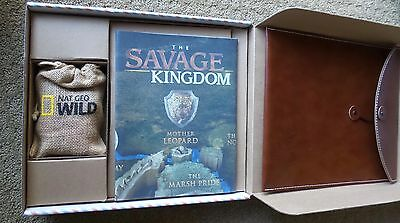 SAVAGE KINGDOM NAT GEO WILD 2016 PRESS KIT DVDs PROMO PORTFOLIO CHECKERBOARD S
