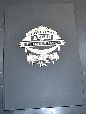 Reprint of 1876 Atlas of Lincoln & Welland Ontario Canada Maps