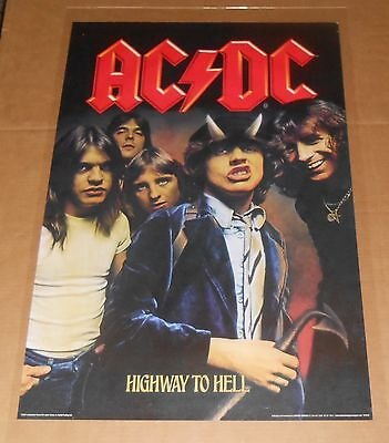 AC/DC Highway to Hell Poster 2007 Original 35x24