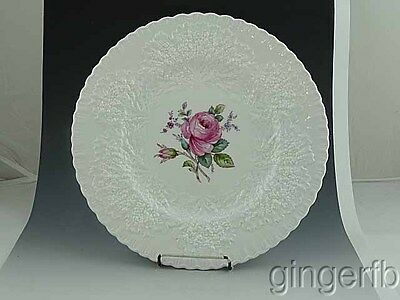 "Vintage Spode Bridal Rose Y2862 Dinner Plate 10 1/4""  Pinks Roses"