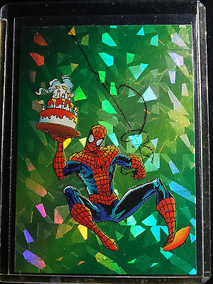 1992 Comic Images Spider-man II 30th Anniversary P7 Assistant Chrome Prism Card