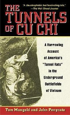 NEW The Tunnels of Cu Chi By Tom Mangold Paperback Free Shipping