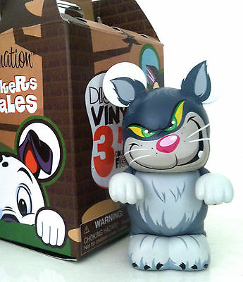 """Disney Vinylmation 3"""" Whiskers & Tales Tails Lucifer Cat Cinderella Toy Figure"""