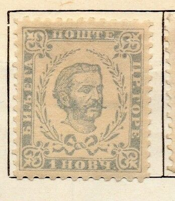 Montenegro 1893 Early Issue Fine Mint Hinged 1n. 128331